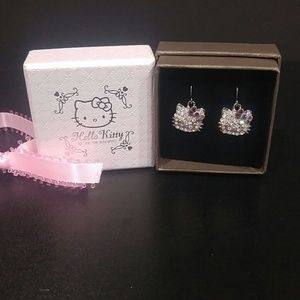 Hello Kitty Earrings NWOT